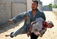 Korban Anak-Anak di Gaza (www.monde-magouilles.com)