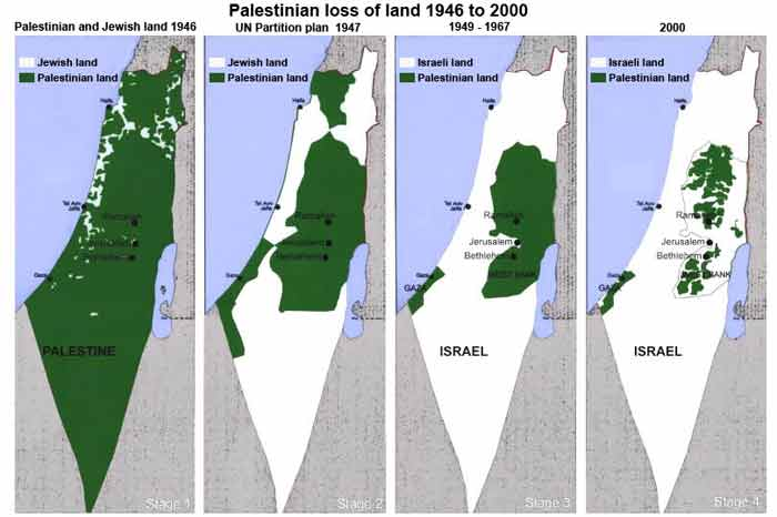 Israel-Palestine Conflict Map